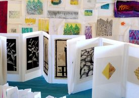 Drawings, prints, embroidery, painting, 2-D, 3-D.  Art options to critique with Katherine Colwell.