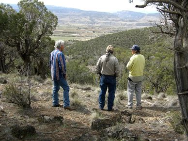 The Sage Flat area of Colwell Cedars Retreat has 3 hiking trails with beautiful views and habitats.