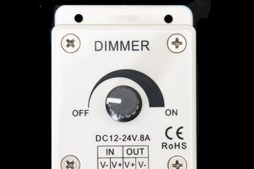 LED DUAL VOLTAGE DIMMER Ref: KJ-LED/DIMMER-PWM/12-24.8A
