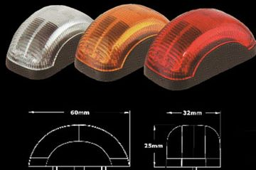 KJ-J8401LED Marker Lights Front /Side/Tail Marker Lights
