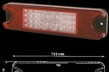 "KJ-J8106LED/10-30. STIR – 7.5"" LED Combination Rear Light"