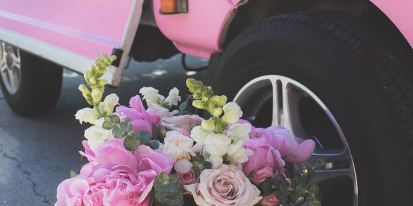 Vancouver flower truck and mobile bar outdoor bar mini truck film prop rental