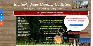 Kentucky Deer Hunts
