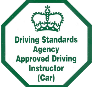 Disappointed approved driving instructor