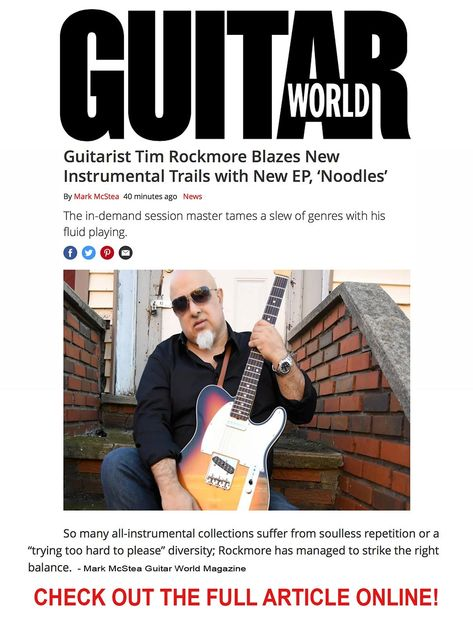 GUITAR WORLD MAGAZINE REVIEW