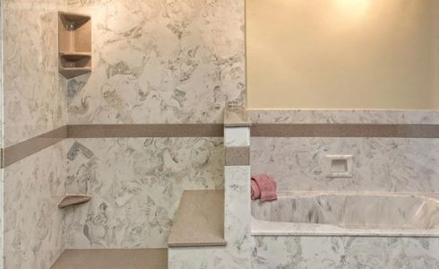 BATHROOM ENGINEERED MARBLE