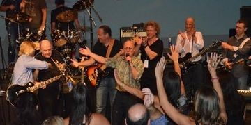 THE SHAVES play with Paul Shaffer and the late Lew Soloff to benefit NORTHERN WESTCHESTER HOSPITAL