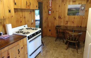 Cabin 4 with full kitchen.