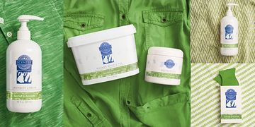 Scentsy Sea Salt & Avocado laundry washer whiffs laundry liquid scent soft fabric softener green