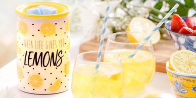 alex's lemonade stand foundation childhood cancer lemons party straw white blue stemless wine glass