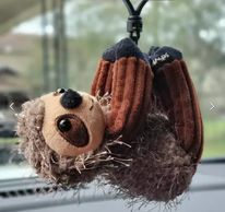 Scentsy Suzy the Sloth Buddy Clip
