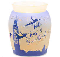 Peter Pan Disney faith trust and pixie dust scentsy warmer london tower big ben wendy tinkerbell