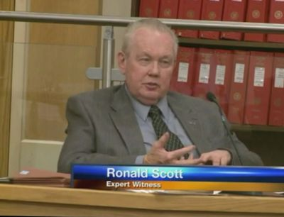 Mr. Scott testifying in New Mexico Superior Court    (Torres v Albuquerque Police).