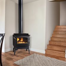 Fireplace installation in Redmond, OR