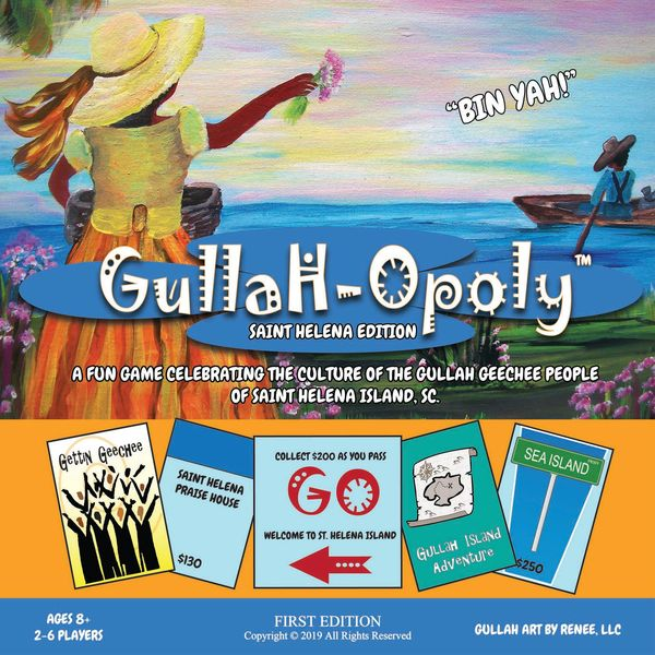 Gullah-Opoly game cover