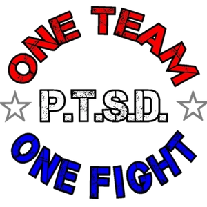 One Team One Fight 4 PTSD logo