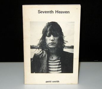Patti Smith's first published book of poetry, 1972, three years before the release of her landmark d