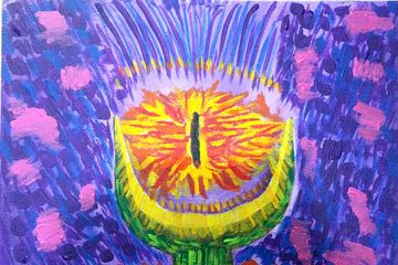 The eye of Doom Painting