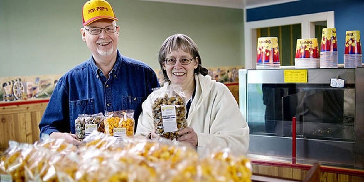 Yes, we are a Mom and Pop-Pop Gourmet Popcorn store!