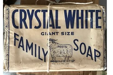 Vintage Crystal White soap.