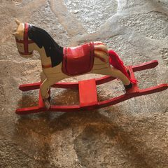 Decorative rocking horse.