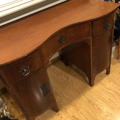 Antique desk.