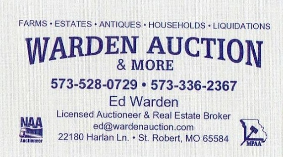 Warden Auction Service