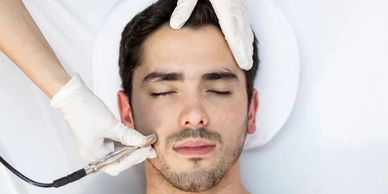 The Best male facial treatments.