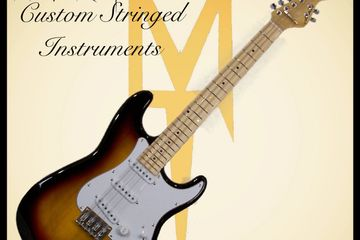 Electric mandocello Stratocaster