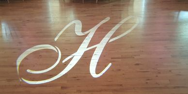 Wedding Monogram, wedding gobo, gobo