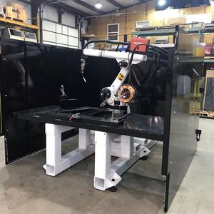 Single Sided Robotic Weld Cell