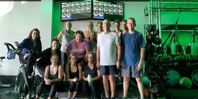 HIIT GROUP CLASS WITH BOXING