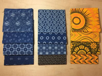 Join Shweshwe FQ Fan Club to receive 4 fat quarters per month in the mail.
