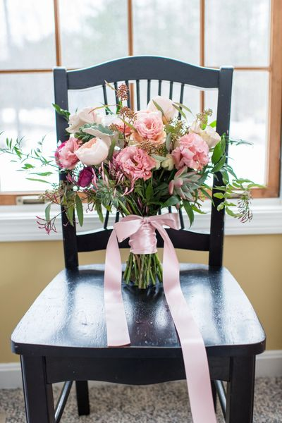 Yarmouth Maine Florist Wedding Bouquet