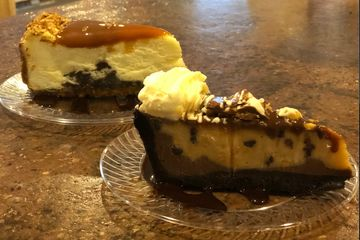 Turtle Cheesecake & Reese's Peanut Butter Pie