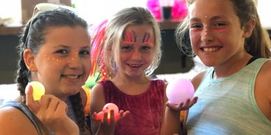 Glow in the Dark FUN at Golden Sands in the Summer