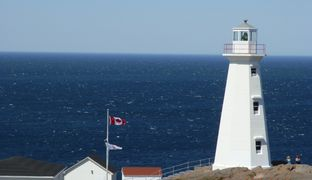 Lighthouse @ Cape Spear, Newfoundland, Canada. Cape spear is 45 min from Vacation Home