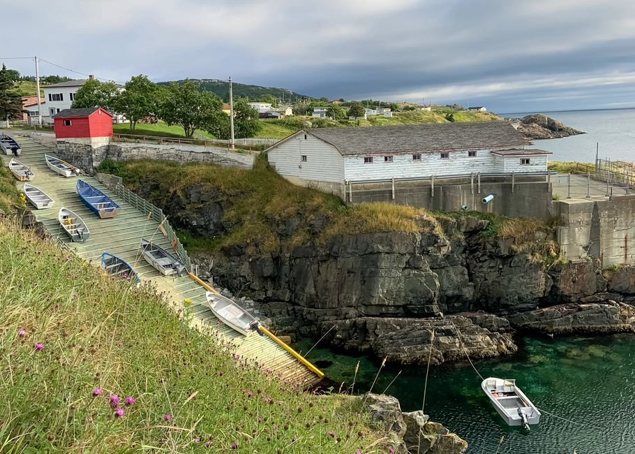 Slipway in Pouch Cove, Newfoundland, Canada
