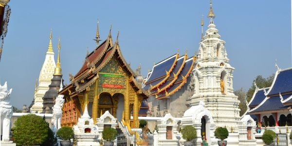 Wat Ban Den Temple - Impressive Temple in the serene valley.