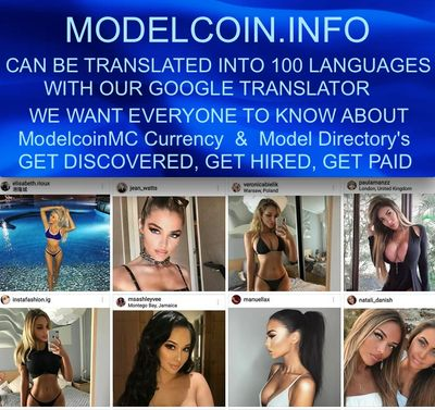 ModelcoinMC Models Cryptocurrency Bitcoin Modelcoin