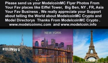 MODELCOIN - Model, Model, Photography, Cryptocurrency