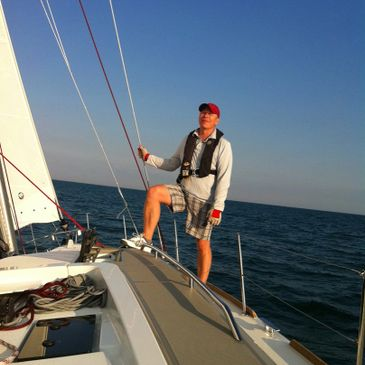We can help you to improve your sailing and boat handling skills