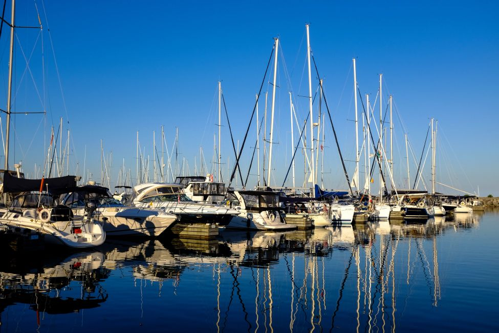 Bronte Harbour Marina located in Oakville Ontario Canada