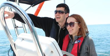 Learn to sail with a certified Sail Canada instructor. You will  learn in a fun relaxed environment