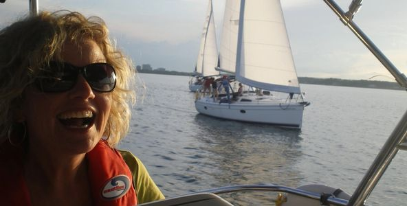 Learn to sail in a fun relaxed environment with a certified Sail Canada Instructor