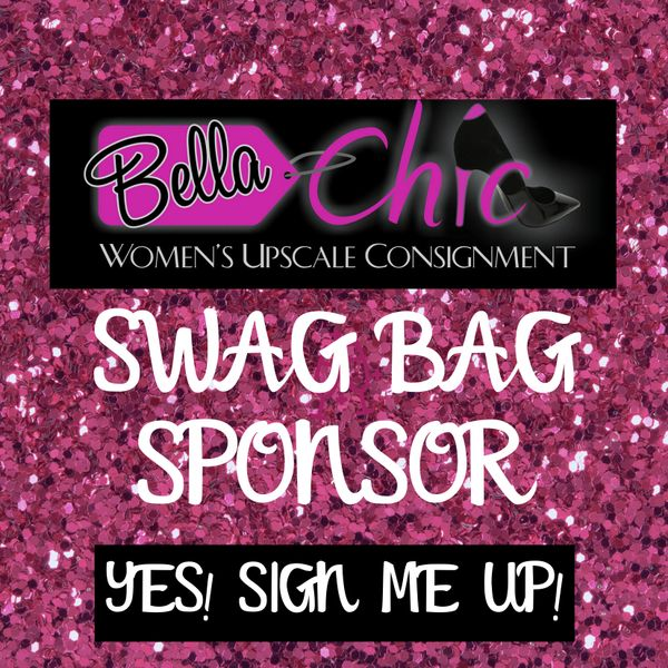 SWAG BAG, VENDOR, SPONSOR, ADVERTISE, BELLA CHIC, VIP SALE, CONSIGNMENT, BUFFALO, NY, WNY, EVENT