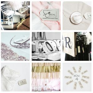 The Bridal Haus Wedding Consignment Inventory PreLoved Upcycled Decor