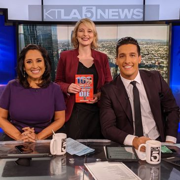 KTLA Morning News Mark Mester Lynette Romero 100 Things To Do In Orange County Before You Die With R