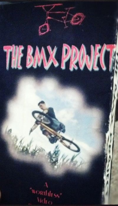 """Worthless Video Productions"" first BMX/MOTO video in 2000."