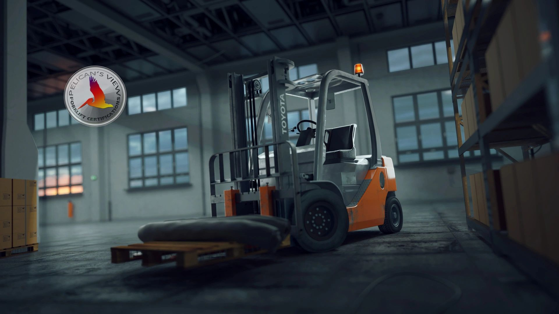 Get Forklift Trained & Certified today!